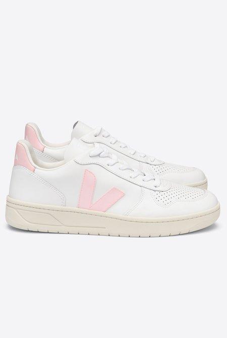 VEJA V-10 Extra Sneakers - White Petale