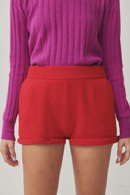 Unsiex Paradis Perdus JASPER Shorts - Red
