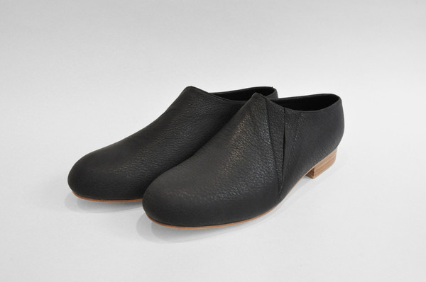 """Men's The Palatines Shoes  """"Fides"""" Elastic Pull-On Ankle Boot - Black"""