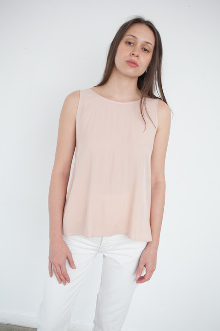 Jesse Kamm Palma Top in Blush