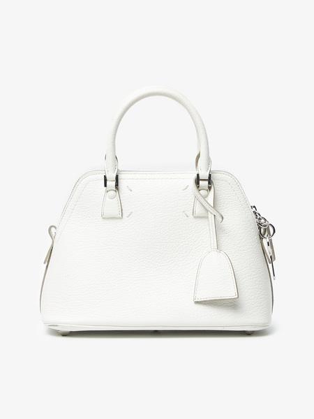 PRE-LOVED Maison Margiela Leather Bag - WHITE