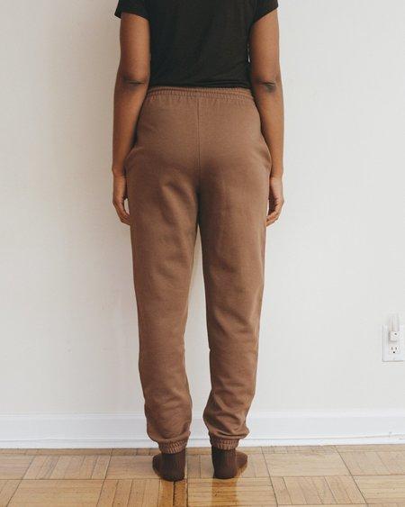 Baserange Sweat Pants - Loam Brown
