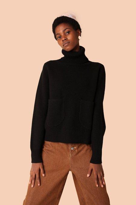L.F.Markey Kael Knit Jumper - Black
