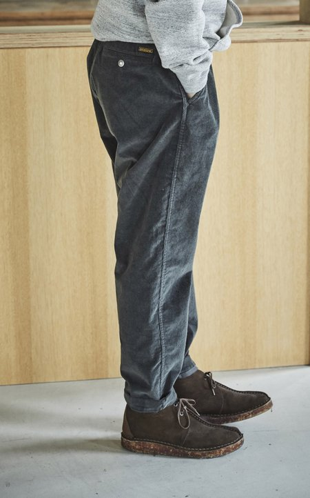 Orslow New Yorker Pants Stretch Corduroy - CHARCOAL GRAY