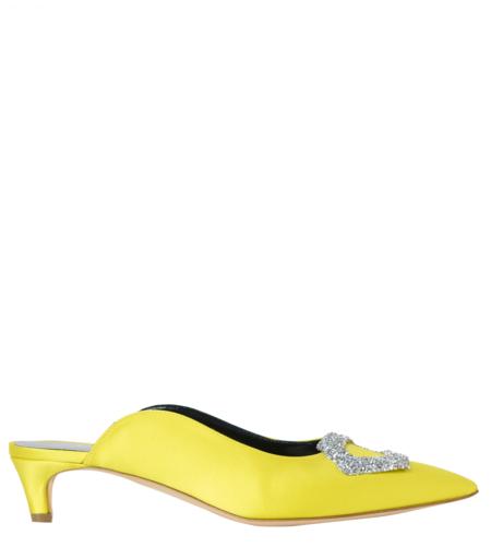 Rupert Sanderson Lullaby Heel - Yellow