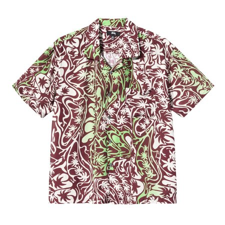 Stussy Psychedelic Palm Tree Shirt