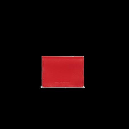 Vlieger & Vandam Cardholder Button - Gun Red