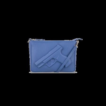Vlieger & Vandam Purse - Gun Ocean Blue