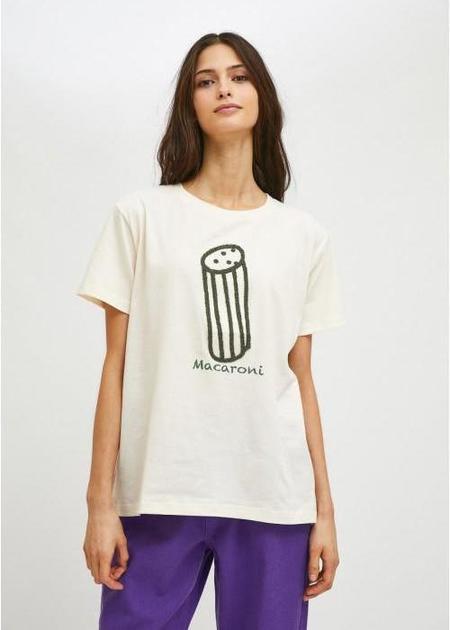 Compañia Fantastica Geometric Pasta Print T-Shirt