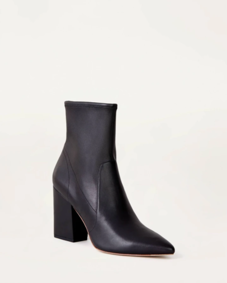 Loeffler Randall Isla Slim Ankle Bootie - Black