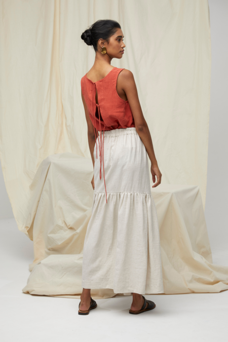 Lois Hazel Miranda Skirt - Sand