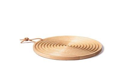 Fire Road Grain Round Bread Board - Maple