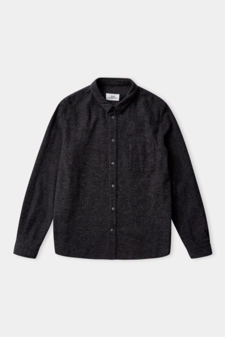 about companions simon shirt - eco coal flannel