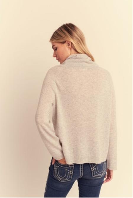 Lisa Todd High Energy Sweater - Platinum
