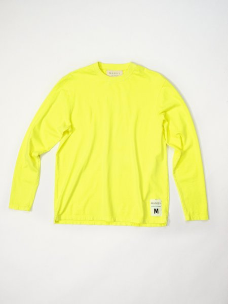 Magill Jacob Long Sleeve T-shirt - Neon Yellow