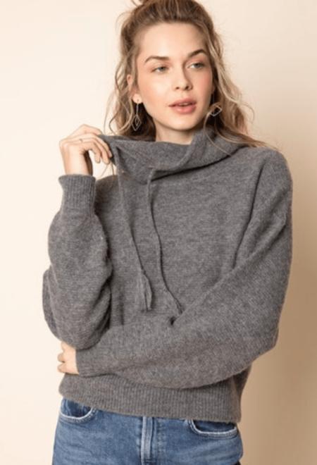 27 Miles Malibu Pearl Sweater - Steel