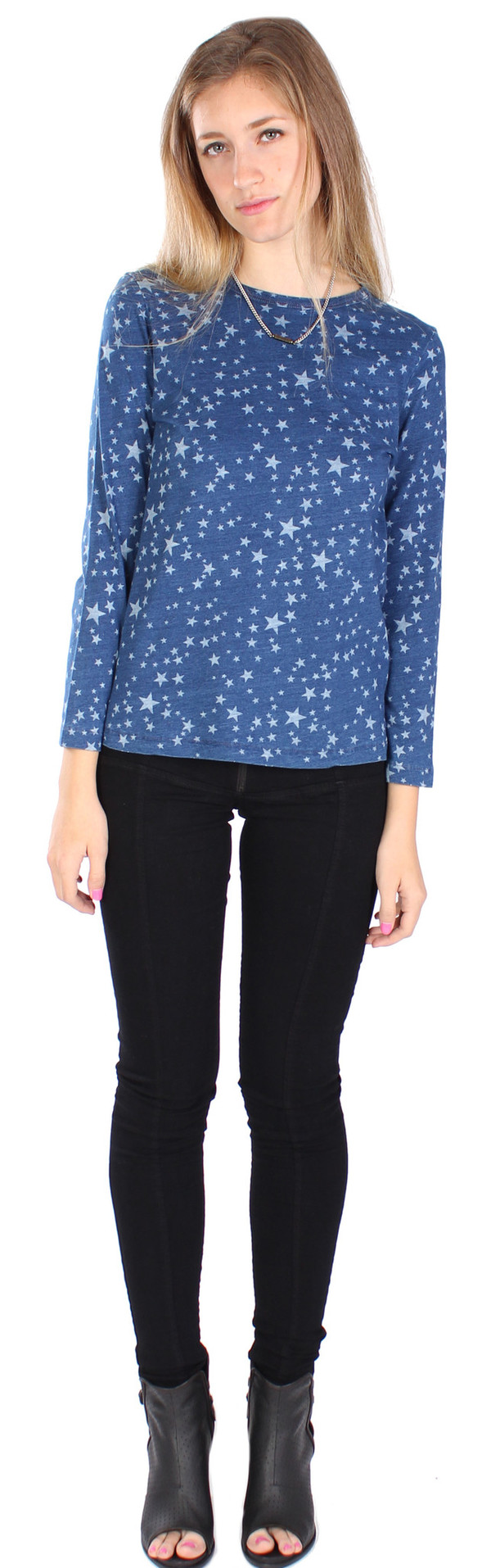 Stars Long Sleeve Tee