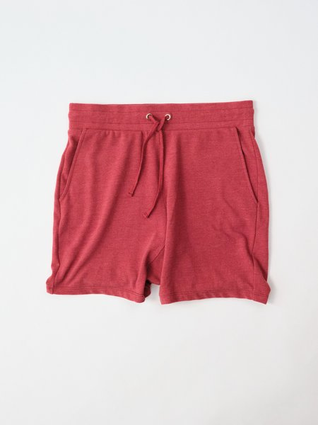 Magill Jake Cotton Pique Shorts - Red