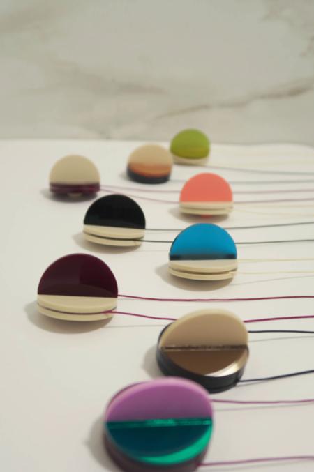 Pamela Coromoto dexel Necklace - Green/Pink/Burgundy