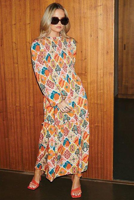 NEVER FULLY DRESSED Amina Midi Dress