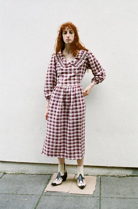 TACH CLOTHING Lulu Tartan Dress - MULTI