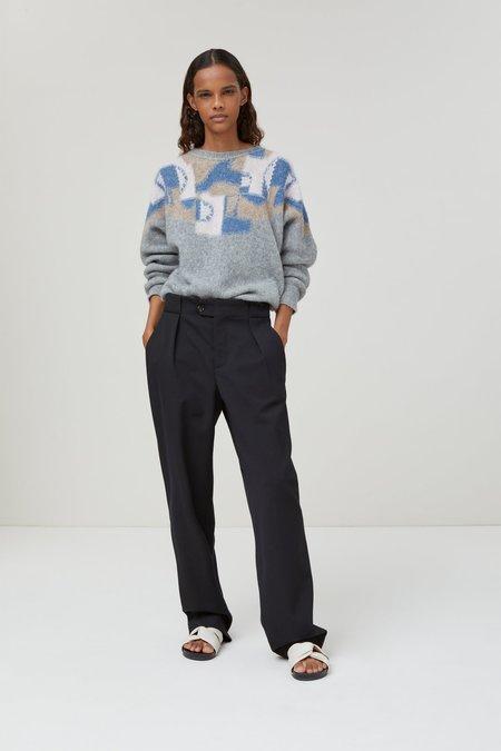 Closed Jacquard Sweater - gray
