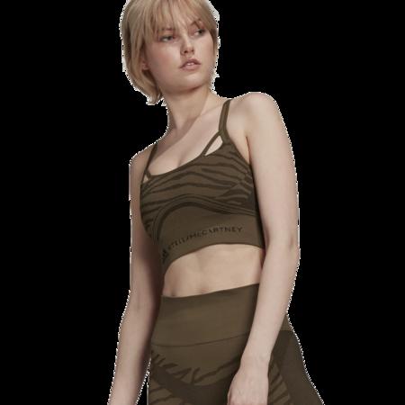 adidas by Stella McCartney Seamless Yoga Light Women GU9400 Support Bra - green