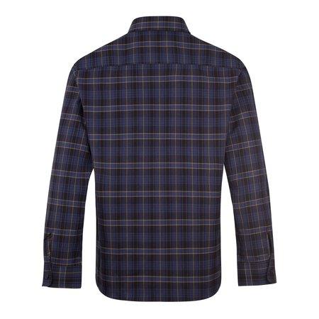 APC Trek Cotton Check Overshirt - Navy