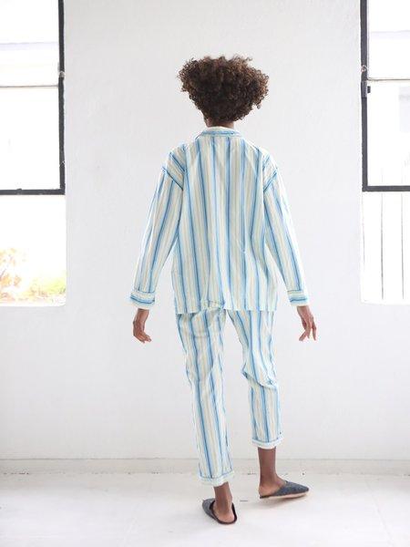 Domi Oversized Pajama Set - Stripes