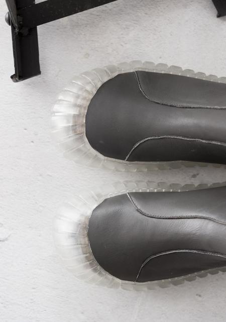 Rundholz Side Zip Booties - CEDAR