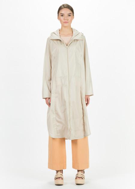 Hudson Hooded Lightweight Cinch Coat