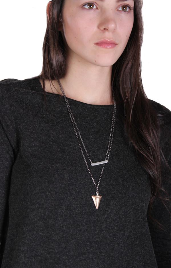 Sarah Dunn Thick Bar Necklace