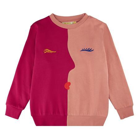 Kids Soft Gallery Baptiste Visage Sweatshirt - Cherries Jubilee
