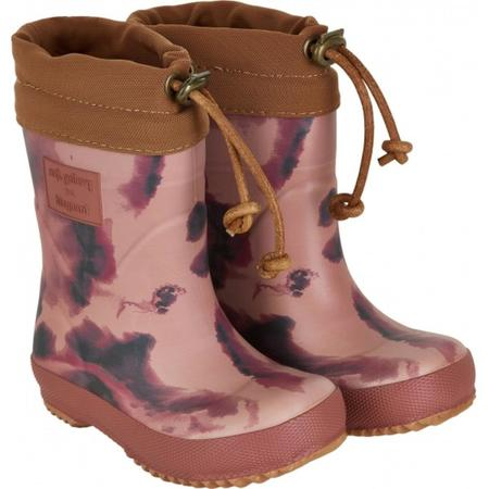 Kids Soft Gallery Indiana Thermo Rubber Boot - Ash Rose