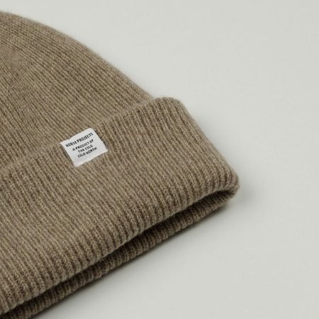 Norse Projects Norse Beanie - Shale Stone