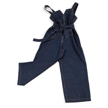 Rachel Comey Bend Jumpsuit - Raw Indigo