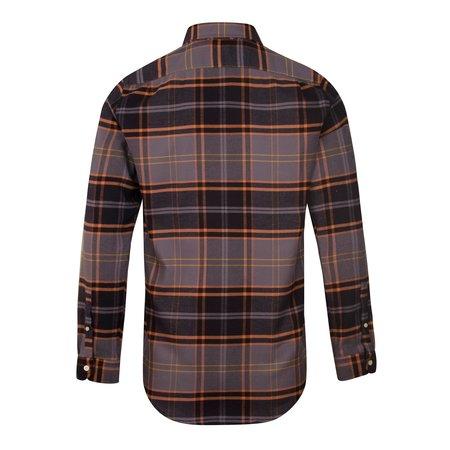 PAUL SMITH Button Down Check Shirt - Charcoal