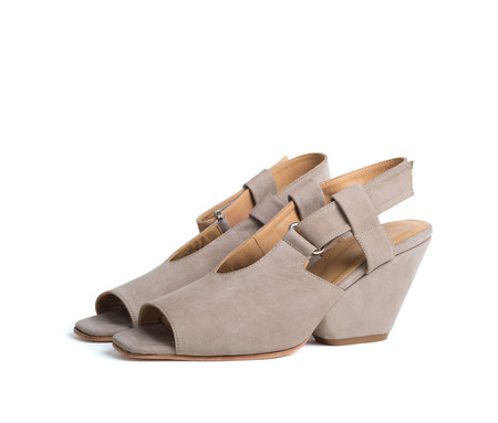 the palatines shoes inopia slingback sandal w sculpted heel -  dusk nubuck (web exclusive)