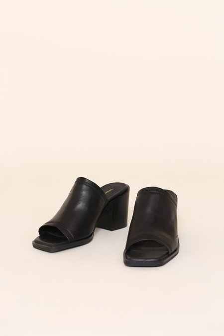 """""""INTENTIONALLY __________."""" Imply 2 Sandals - Black"""