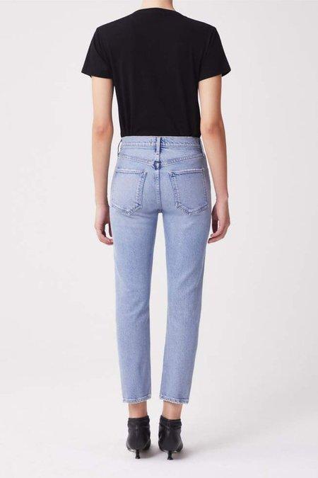 AGOLDE RILEY HI RISE CROP Jeans - SHIVER
