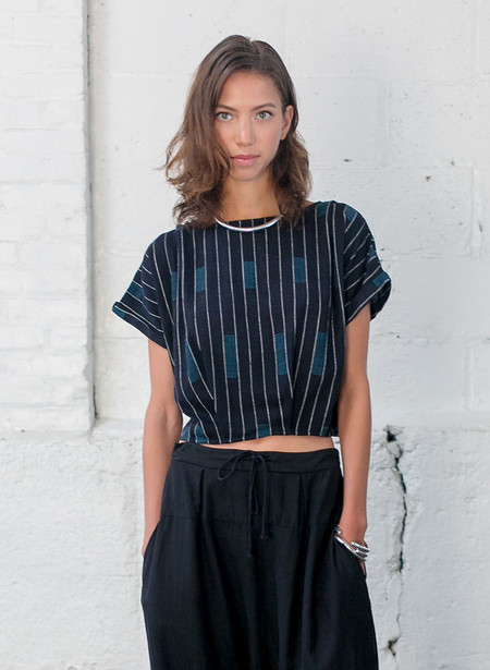 Seek Collective Maggie top - Dindori weave