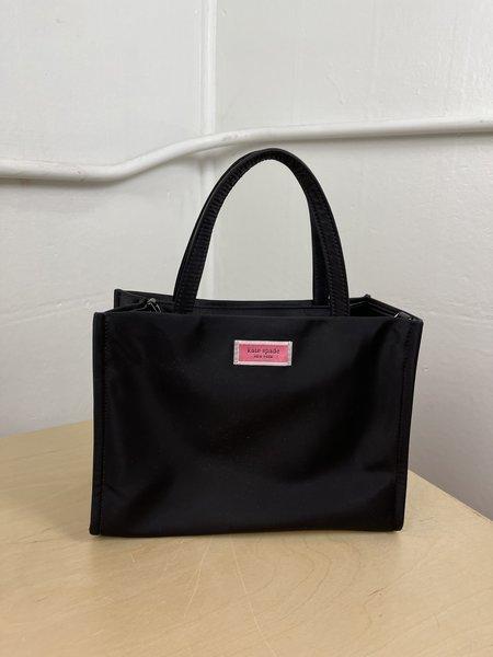 [pre-loved] Kate Spade Sam Nylon Mini Cross Body Bag - Black