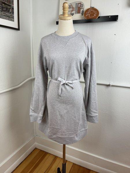 [Pre-Loved] Tibi Cut-Out Sweatshirt Dress - Grey