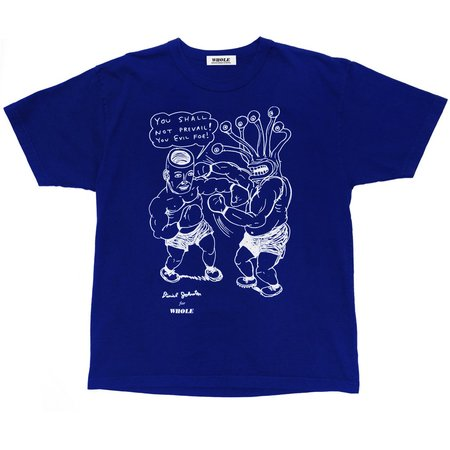 Unisex WHOLE You Shall Not Prevail Tshirt - Cobalt Blue