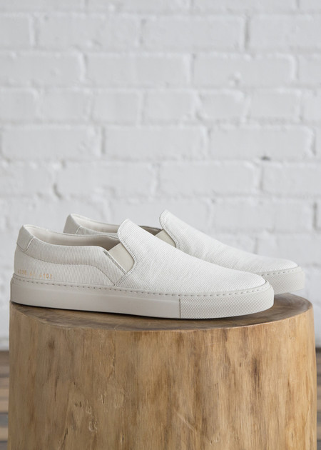 Woman by Common Projects Common Projects x 6397 Denim Slip On White Stripe