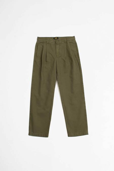 Stan Ray Pleated chino - olive twill