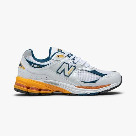 New Balance ML2002RLA shoe - White / Lagoon