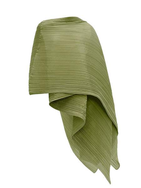 Madame T Stole in Green by Pleats Please