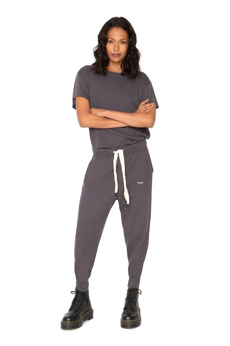 SANDRINE ROSE French Terry New SweatPants - gray
