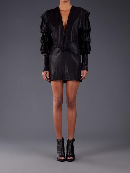 Julia Clancey Grace Dress Black Metallic